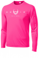 North Central Baptist Football Tees MOCKUP 1 PINK